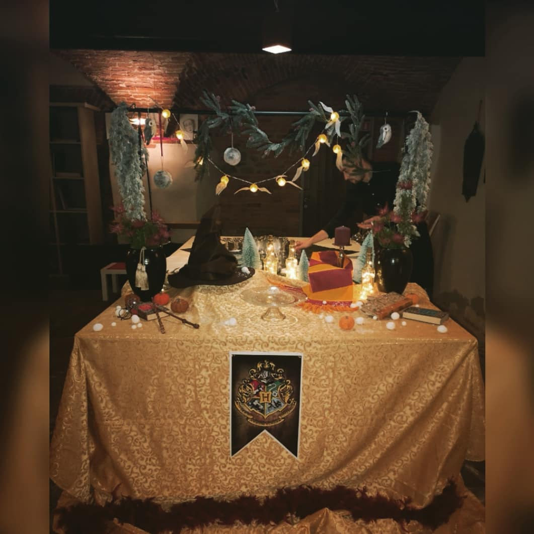 Compleanno Harry Potter 4